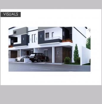 Off Plan 4 Bedrooms Terraced Duplex with Service Room, Medina Estate, Gbagada, Lagos, Terraced Duplex for Sale