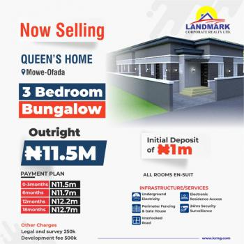 Exquisite Apartments That Carry The Gorgeous Signature of Readiness, Off Lagos - Ibadan Expressway, Mowe Ofada, Ogun, Semi-detached Bungalow for Sale