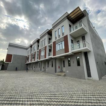 Luxury 5 Bedroom Terrace Duplex in a Strategic Location, Jabi, Abuja, Terraced Duplex for Sale
