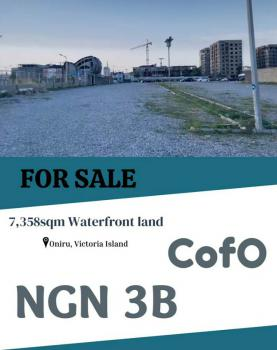 Land with C of O in a Highly Developed Area, Oniru Water Front, Oniru, Victoria Island (vi), Lagos, Commercial Land for Sale