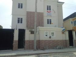 Brand New And Luxuriously Finished 3 Bedroom Flat With Boys Quarters, Agungi, Lekki, Lagos, 3 bedroom, 4 toilets, 3 baths Flat / Apartment for Rent