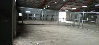 Warehouse Measuring 877sqmt with Offices and Ample Parking Lot, Iddo Bus-stop, Oyingbo, Yaba, Lagos, Warehouse for Rent
