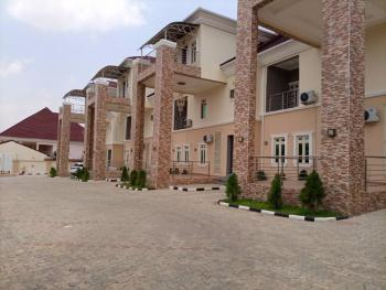 Luxury Service 5 Bedrooms Terrace Duplex with a Room Bq, Diplomatic Zone, Katampe Extension, Katampe, Abuja, Terraced Duplex for Rent
