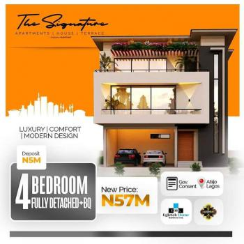 Beautiful 4 Bedroom Detached Duplex with Bq You Do Not Want to Miss!, The Signature Homes, Abijo, Lekki, Lagos, Detached Duplex for Sale