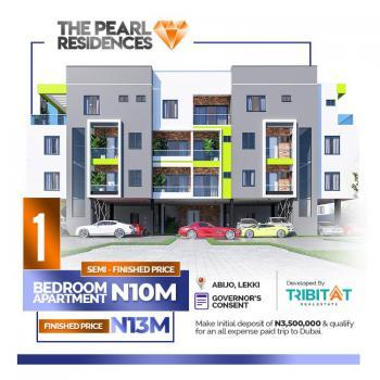 a Luxury 1 Bedroom Apartment with Excellent Features, Lekki Pearl Garden, Behind Oando Fuel Station, Off Lekki - Epe Express, Abijo, Lekki, Lagos, Terraced Duplex for Sale