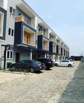 Supper Designed 4 Bedroom Terrace Duplexes with Bq , Tarred Road, Jahi, Jahi, Abuja, House for Sale