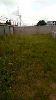 Half Plot of Land Fully Fenced and Gated with R/c, Gbagada, Lagos, Mixed-use Land for Sale