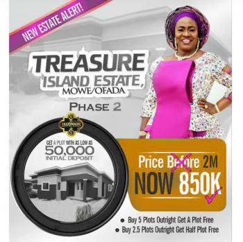 Buy 5 Get 1 Plot Free, Treasure Island Estate Phase 2, Mowe Ofada, Ogun, Residential Land for Sale