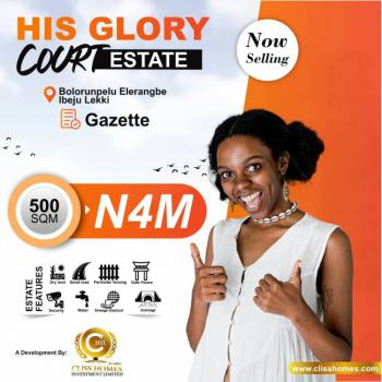 100% Dry Land Facing The Expressway with Approved Government Gazzette, Elerangbe, Before Alaro City, International Airport Road, Ibeju Lekki, Lagos, Mixed-use Land for Sale