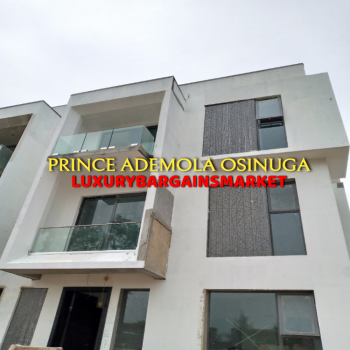 Great Deal! Fresh & Newly Built 5 Bedroom House, Banana Island, Ikoyi, Lagos, Semi-detached Duplex for Sale