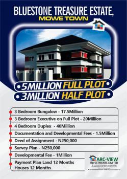3 Bedroom Fully Finished Detached Bungalow, Bluestones Treasure Estate, Mowe Town, Ogun, Detached Bungalow for Sale