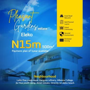 Vacant Land, Pleasant Gardens, Eleko, Ibeju Lekki, Lagos, Residential Land for Sale