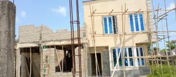 New 2-bedroom Carcass Terrace Duplex. 5yrs Payment Plan Available., an Estate Facing Expressway, Lakowe, Ibeju Lekki, Lagos, Terraced Duplex for Sale