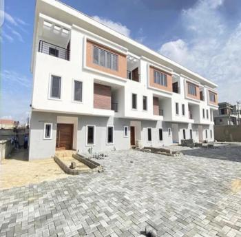 Exquisitely Finished & Fully Serviced 4 Bedroom Terrace with a Room Bq, Ikate, Lekki, Lagos, Terraced Duplex for Sale