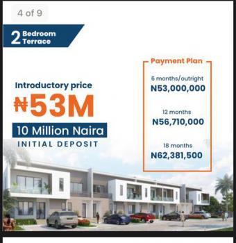Luxury 2 Bedroom Terrace, Abraham Adesanya, Ajah, Lagos, Terraced Duplex for Sale