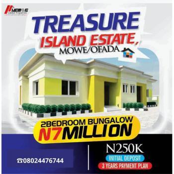 2 Bedroom Bungalow, Mowe Ofada, Mowe Ofada, Ogun, Detached Bungalow for Sale