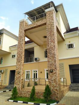 Luxury 5 Bedroom Terraced  Duplex with Bq in a Serene Location, Katampe Extension, Katampe, Abuja, Terraced Duplex for Rent