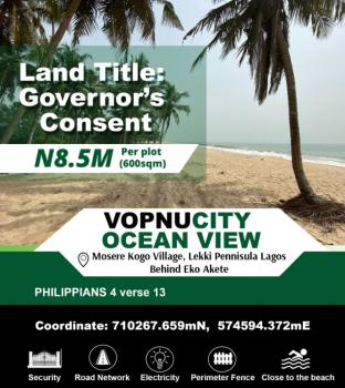 Estate Land, Behind Abijo Gra 10minutes Away From Shoprite, Sangotedo, Ajah, Lagos, Mixed-use Land for Sale
