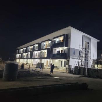 Luxury 3 Bedroom Terrace Duplex in Serviced Estate, Ikate, 2 Minutes Away From Blenco, Lekki, Lagos, Terraced Duplex for Sale
