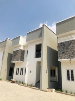 Tastefully Finished 4 Bedroom Duplex with Bq, Guzape District, Abuja, Terraced Duplex for Sale