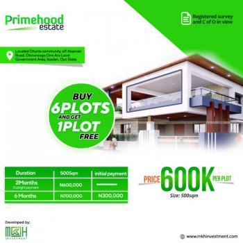 Land, Primehood Estate, Ijebu Igbo Road, Akanran, Ona Ara, Oyo, Residential Land for Sale