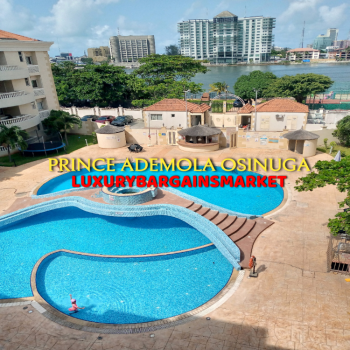 High End Lagoon View / Family Friendly 3 Bedroom Apartment + Tennis., Central Ikoyi, Old Ikoyi, Ikoyi, Lagos, Flat / Apartment for Rent