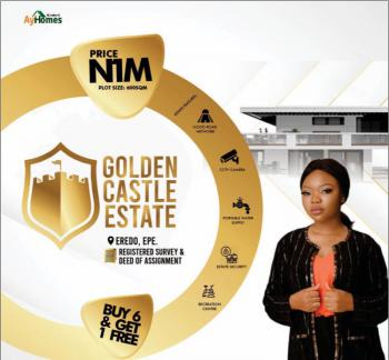 Buy 6 and Get 1 Free, Golden Castle Estate, Epe, Lagos, Residential Land for Sale
