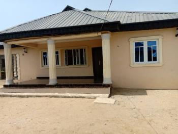 Brand New 4 Bedroom Flat with 4 Shops and 2 Units of Mini Flat, Oriental Road, Igbogbo, Ikorodu, Lagos, Block of Flats for Sale
