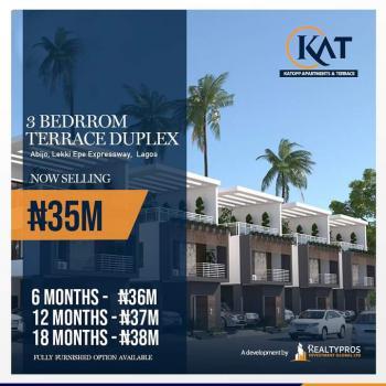 3 Bedrooms Terraces, Flourish Gate Gardens, By Sunday Ejimofor Bus-stop, Lekki Epe Expressway, Abijo, Lekki, Lagos, Flat for Sale