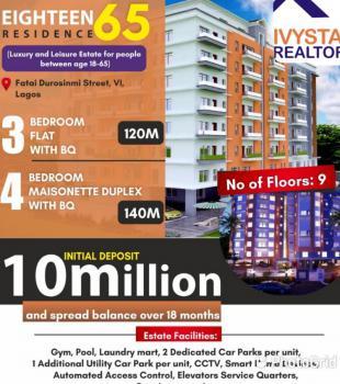 3 Units of 4 Bedroom Masionette, Victoria Island (vi), Lagos, Terraced Duplex for Sale