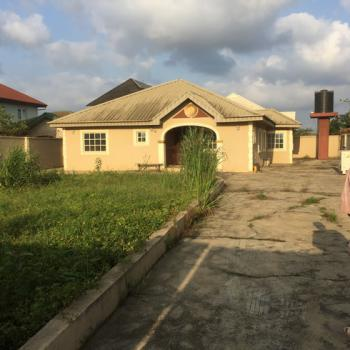 Very Spacious 3 Bedroom Bungalow on a Full Plot of Land, Off Berger Express, Ojodu, Lagos, Detached Bungalow for Sale
