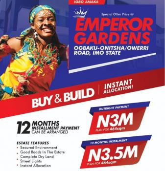 Invest in This Strategic Land and Become a Landlord Sooner, Emperor Gradens, Ogbaku, Mbaitoli, Imo, Residential Land for Sale