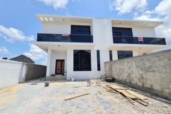 Spacious and Nicely Built 5 Bedroom Semi-detached House with Bq, Ajah, Lagos, Semi-detached Duplex for Sale