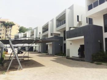Newly Built Spacious 4 Bedroom Terrace Duplex with a Room Bq, Wuse 2, Abuja, Terraced Duplex for Sale