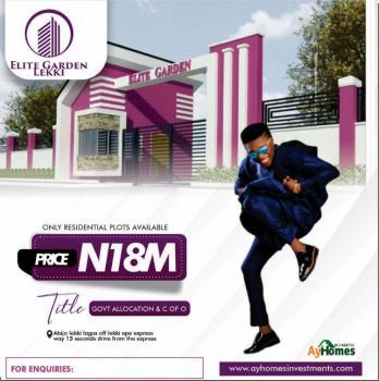 Land, Elite Gardens, Lekki, Lagos, Land for Sale