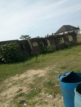 Governors Consent 950sqm of Dry Land with Uncompleted Structure, Majek First Gate, Sangotedo, Ajah, Lagos, Mixed-use Land for Sale