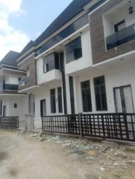 Newly Built 4 Bedroom Semi-detached Duplex with a Bq, Chevron Alternative, Lekki, Lagos, Semi-detached Duplex for Rent