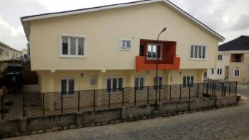 24 Hours Serviced. 4 Bedrooms with Bq, Lekki Gardens New Horizon 2, Ikate Elegushi, Lekki, Lagos, Semi-detached Duplex for Sale