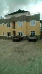 an Exquisite Newly Built Serviced  3 Bedroom Flat + Bq  (5 in a Comp) All Room  En-suite, Chevy View Estate, Lekki, Lagos, Flat for Rent