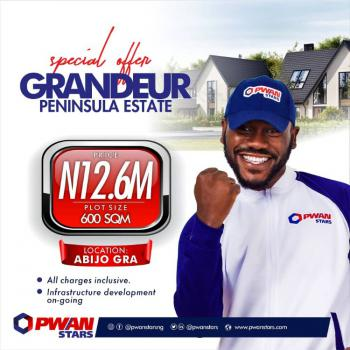 100% Dry Land with Instant Allocation, Grandeur Peninsula Estate, Abijo, Lekki, Lagos, Mixed-use Land for Sale