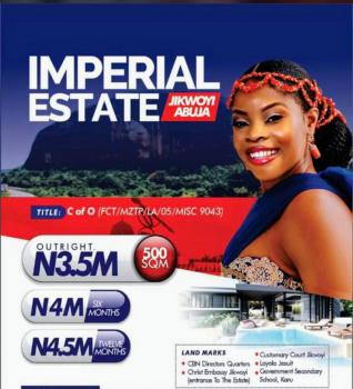 Hot Deal Among Elite, Imperial Estate, Jikwoyi, Abuja, Land for Sale