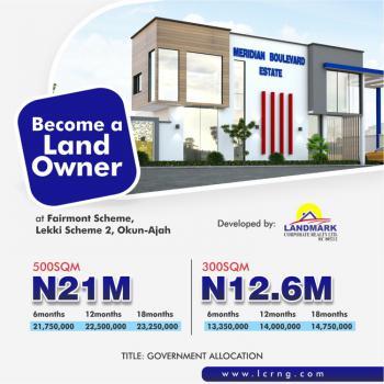 Exquisite Land, Meridian Boulevard Estate, By Abraham Adesanya, Okun-ajah, Ajah, Lagos, Land for Sale