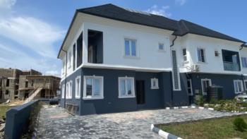 Four Bedroom Semi-detached House with a Maids Room - Carcass, Cowrie Creek Estate, Lekki, Lagos, Semi-detached Duplex for Sale