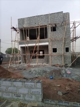 Newly Built 3 Bedrooms Detached Duplex Carcass, Opposite River Park Estate, Lugbe District, Abuja, Detached Duplex for Sale