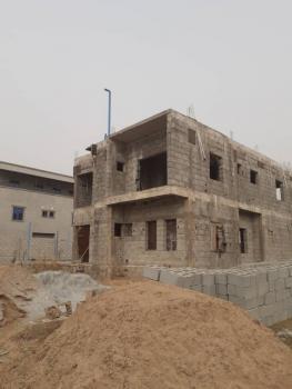 4 Bedroom Semi Detached Prefinished in a Pretty Location, Just After The Nizamiya Turkish Hospital, Karmo, Abuja, Semi-detached Duplex for Sale