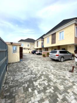 Nicely Built 4bedroom Duplex with Bq, with Bq, Off Domino Pizza Road, Lekki, Lagos, Terraced Duplex for Rent