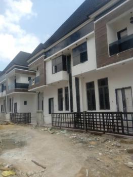 Newly Built 4 Bedrooms Semi Detached Duplex with Bq, Chevron Alternative Road, Osapa, Lekki, Lagos, Semi-detached Duplex for Rent