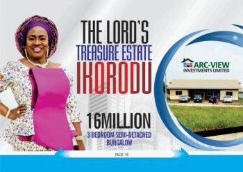 Beautiful 3 Bedroom Apartment, Itamaja Street / The Lords Treasure Estate, Ikorodu, Lagos, Semi-detached Bungalow for Sale