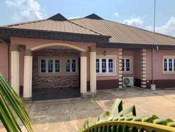 3 Bedroom Bungalow and a Self Contain Sitting on Two Plots of Land, Unity & Peace Estate, Close to Obasanjo Farm, Otta, Ado-odo/ota, Ogun, Detached Bungalow for Sale