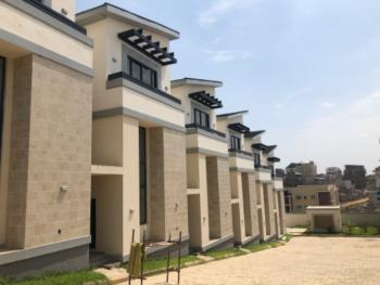 an Exquisitely Finished and Serviced 4 Bedroom Terrace Duplex, Off Coza Road, Guzape District, Abuja, Terraced Duplex for Rent